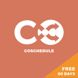 COSCHEDULE – FREE 60 DAY TRIAL! Editorial calendar and social media content planner and scheduler.