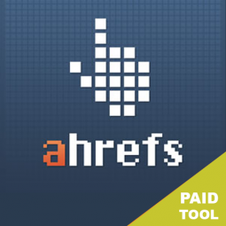 AHREFS – $99/MO. A very useful link analytics tool to identify who is linking to you or your competitors.
