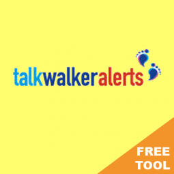 TALKWALKER ALERTS – Free monitoring tool for basic web based alerts.