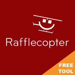 RAFFLECOPTER – FREE VERSION AVAILABLE! A very useful and simple to use tool for running competitions.