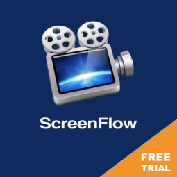 SCREENFLOW – FREE TRIAL (but videos will be watermarked). Edit your videos on a Mac.