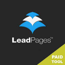 LEADPAGES – $25/MO. Create high converting landing pages using their templates.  Easy to use.