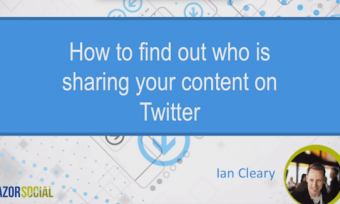 Find out who is sharing your content on Twitter