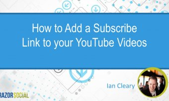 How to Add a Subscribe Link to YouTube Videos