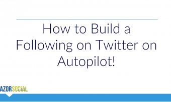 How to Build a Following on Twitter on Autopilot!